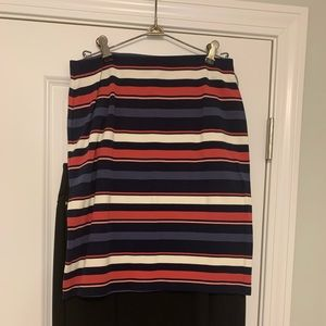 EUC Long Fitted Skirt